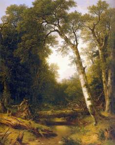 A Stream in the Wood (1865) - Asher Brown Durand